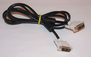 6FT DVI Male to Male DVI-D Single Link 18+1 Pin Computer Monitor Display Cable