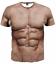 New-Fashion-Cool-Women-Men-Funny-Muscle-Print-3D-T-Shirt-Casual-Short-Sleeve-Tee thumbnail 35
