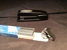 Swingline Bundle Lot Retro Art Deco Oval Emblem Stapler Remover Staples Black