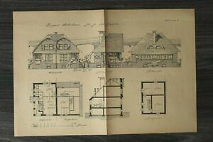 GFA-Blatt-Doppel-Wohnhaus-1920er-Jahre-Architektur-Werner-Issel-Grundriss-Haus