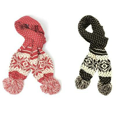 Kleidung & Accessoires Fila Barta Knitted Scarf Retro Nordic
