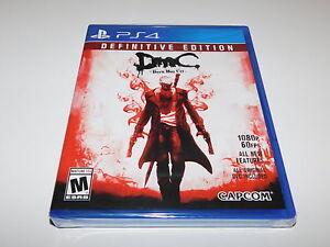 DMC-Devil-May-Cry-Definitive-Edition-Playstation-4-PS4-Fabbrica-Sigillato-Nuovo-di-Zecca