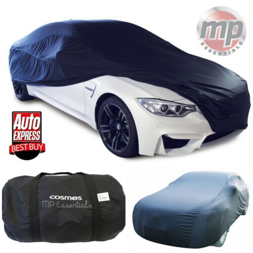 Cosmos Black Breathable Fabric Indoor & Garage Full Car Cover to fit BMW Z1 & Z3