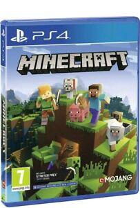 Minecraft bedrock PS4  (Sony PlayStation 4) NEUWARE