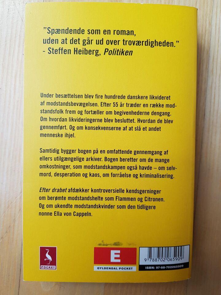 Efter drabet, Peter Øvig Knudsen, genre: historie