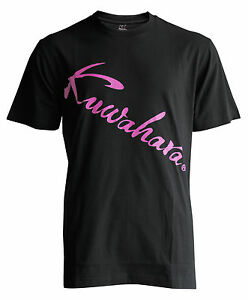 Kuwahara Pink Logo T-shirt