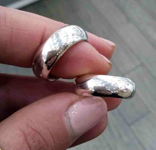 Anello fedone argento 925 rodiato anallergico modello Dodo gioielli uomo donna