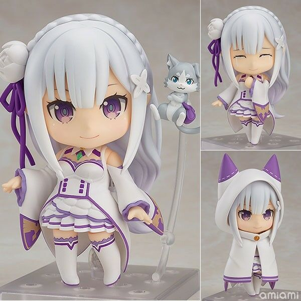 Anime Re:Life In A Different World From Zero Emilia PVC Figure Statue Toy Gift
