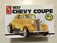Amt 1937 Chevy Coupe 2 In 1 6579 Plastic Model Kit In Box