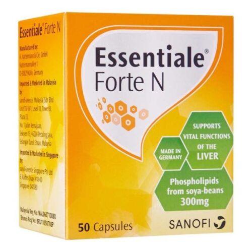 10x Essentiale Forte 300mg 500caps detox liver care regeneration Max Top Sanofi
