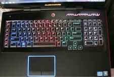TPU Clear Keyboard Cover Skin Protector for Dell Alienware M18x R1 R2 18.4''