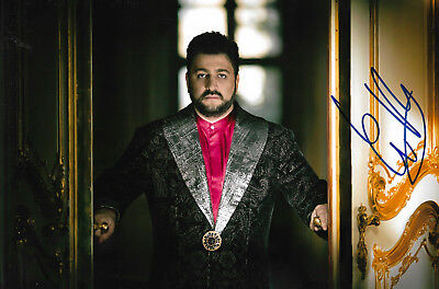 Classical, Opera & Ballet Entertainment Memorabilia Realistic Yusif Eyvazov Opera Signed 8x12 Inch Photo Autograph