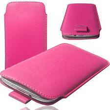 MX Slim Cover Case Schutz Hülle Etui Pull UP Tab Tasche für UHANS U100 PINK