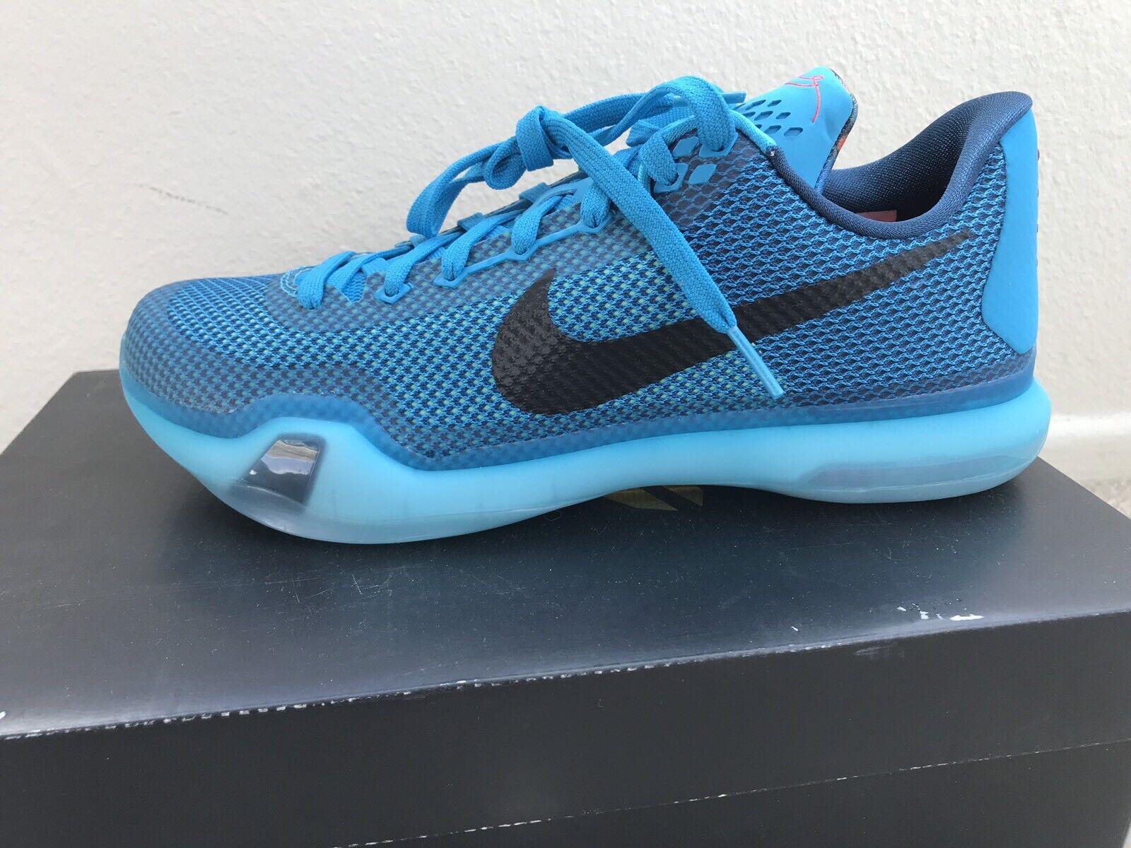 DS 8.5 Sz Men Lagoon X Kobe Nike bluee 705317 403