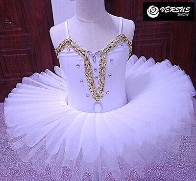 Vestito Tutù Saggio Danza Bambina Ragazza Woman Girl Ballet Tutu Dress Danc165 Rinfresco