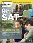 College Test Preparation: 9 Practice Tests for the SAT, 2018 Edition by Princeton Review Staff (2017, Paperback)