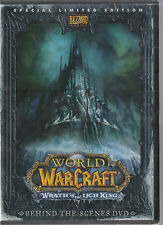 WORLD OF WARCRAFT Behind the Scenes DVD WRATH Of The LICH KING New Sealed L@@K