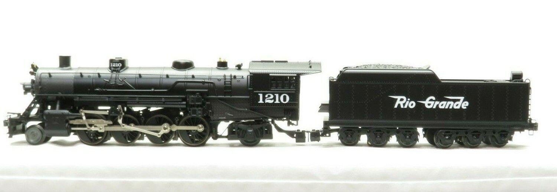 Image 1 - LIONEL 6-18080 Denver & Rio Grande Mikado 2-8-2 w/TMCC Railsounds LN