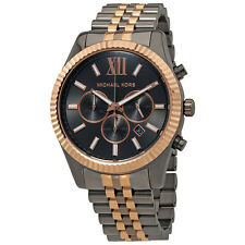 Michael Kors Lexington Grey Dial Mens Chronograph Watch MK8561