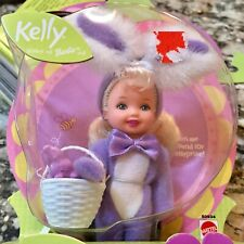 NEW Fluffy Tail Easter Barbie Kelly Club Yellow Bunny B005