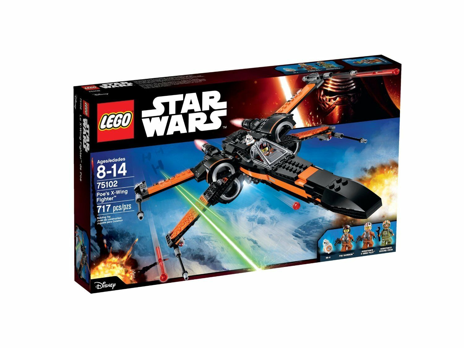 LEGO Star Wars Poe's X-Wing Fighter 75102 - retired