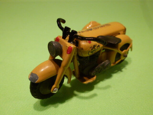TEKNO DENMARK 764 MOTORCYCLE - WEGENWACHT - YELLOW - GOOD CONDITION