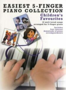 Easiest-5-Finger-Piano-Collection-Children-039-s-Favourites-by-Various