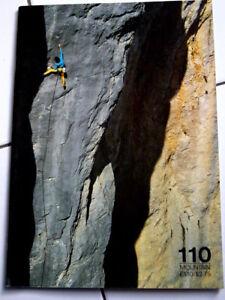 110 Mountain Magazine Escalade Alpes Alpinisme-afficher Le Titre D'origine Apparence Brillante Et Translucide