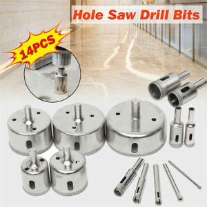 Diamond Holesaw 70mm Drill Bit Cutter Tile Ceramic Glass Porcelain Marble