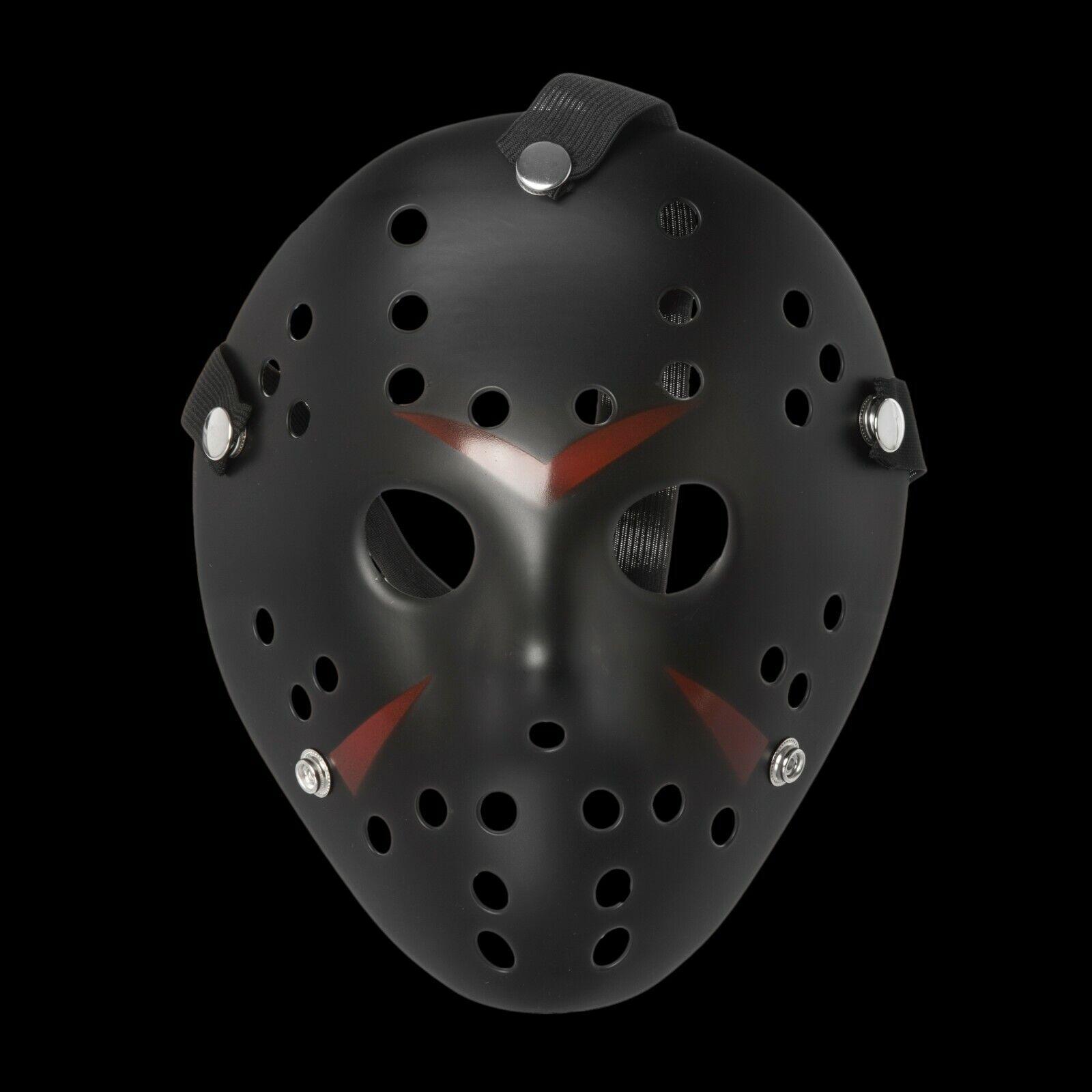 Adults Black Halloween Hockey Style Hacker Horror Hockey Face Masks Halloween UK