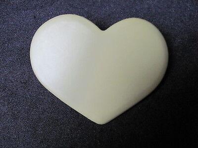 Symbol Der Marke Grüne Haarspange Herz Kunsdtstoff 70er Jahre Top Zustand Ca 9 Cm