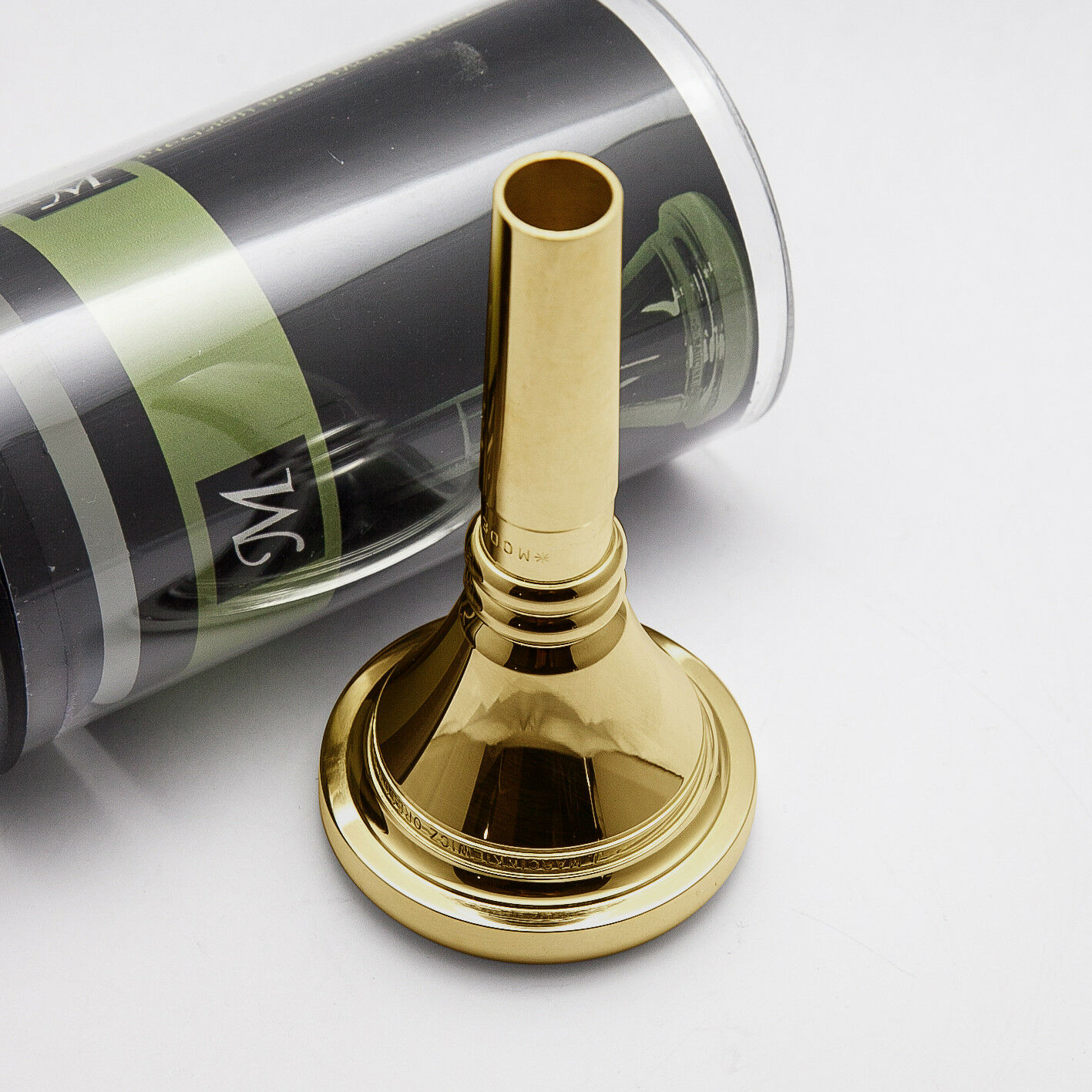 24K Gold Rim /& Cup Marcinkiewicz Tuba Mouthpiece N4