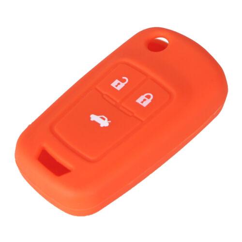 FUNDA SILICONA llave Chevrolet Cruze AVEO navegar TRAX Malibú CAPTIVA 3 botones