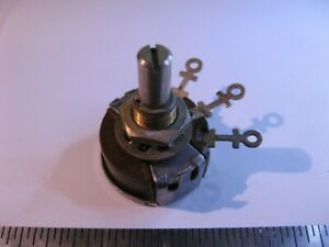 Potentiometer-5000-Ohm-PEC-RV3ATSD502A-Panel-Mount-5K-NOS-Qty-1