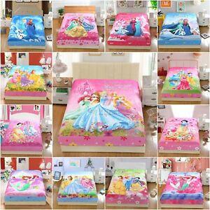 Disney-Princess-Frozen-2pcs-Fitted-Sheet-Set-Pillowcase-Twin-Full-Queen-Size