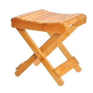 Image Is Loading Shower Stool Seat Bathroom Spa Bench Folding Chair