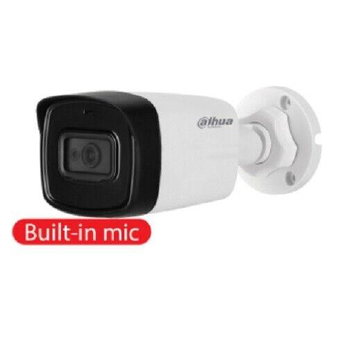 0.02 lx IR 80m HAC-HFW1200TL-A Telecamera Bullet DAHUA HD-CVI Audio 2 MPx 3,6mm