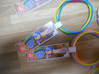 10 Umizoomi Birthday Party Favor Bracelets Sets With Custom Thank You Tag