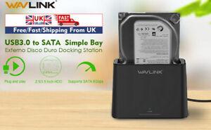 Wavlink-USB3-0-to-SATA-2-5-039-039-amp-3-5-039-039-HDD-SSD-Single-Bay-Hard-Drive-Docking-Station