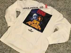 SUPREME-X-UNDERCOVER-X-PUBLIC-ENEMY-COUNTERATTACK-LONGSLEEVE-TEE-M-WHITE-SS18-LS