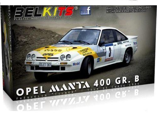 BELKITS OPEL MANTA 400 GR.B TOUR DE CORSE 1984 1\24 BEL008