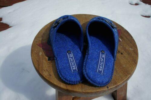 Premium Quality 100/% Sheep Wool Sheep Felt Slippers .Made in Europe.USA Sealer.
