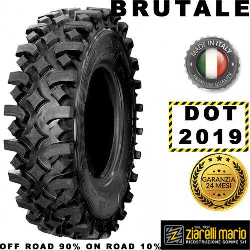 Pneumatici Ziarelli 265//70 R15 116T BRUTALE M+S DOT 2019 *RICOSTRUITA IN ITALIA*