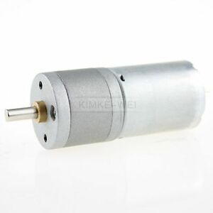 Details about 12V DC 800RPM Powerful High Torque Gear Box Motor