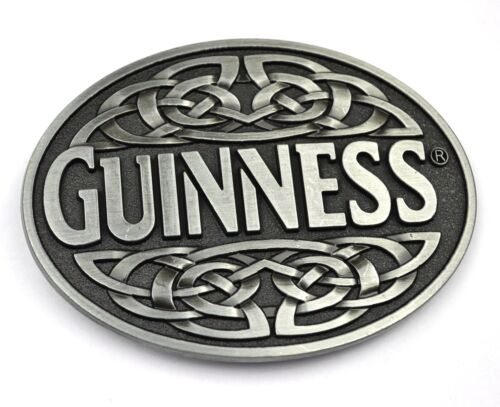 Guinness Beer Beer USA BELT BUCKLE METAL BELT BUCKLE