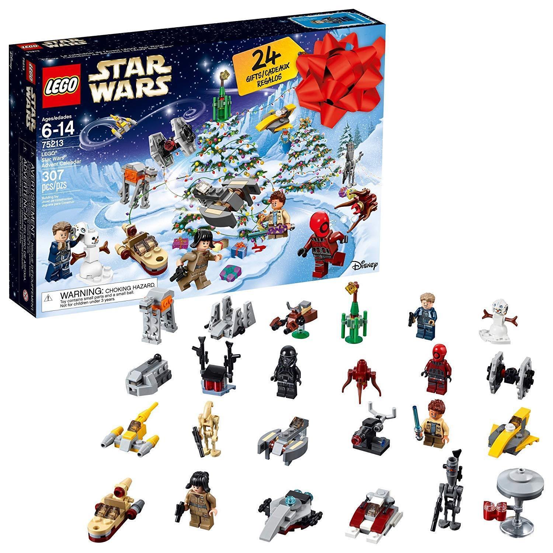 LEGO Star Wars Advent Calendar 75213 2018 Edition [Building Toys 307 Pieces] NEW