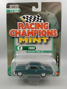 Racing Champions Mint 1966 Chevrolet Nova SS 1:64 Diecast Car RC009
