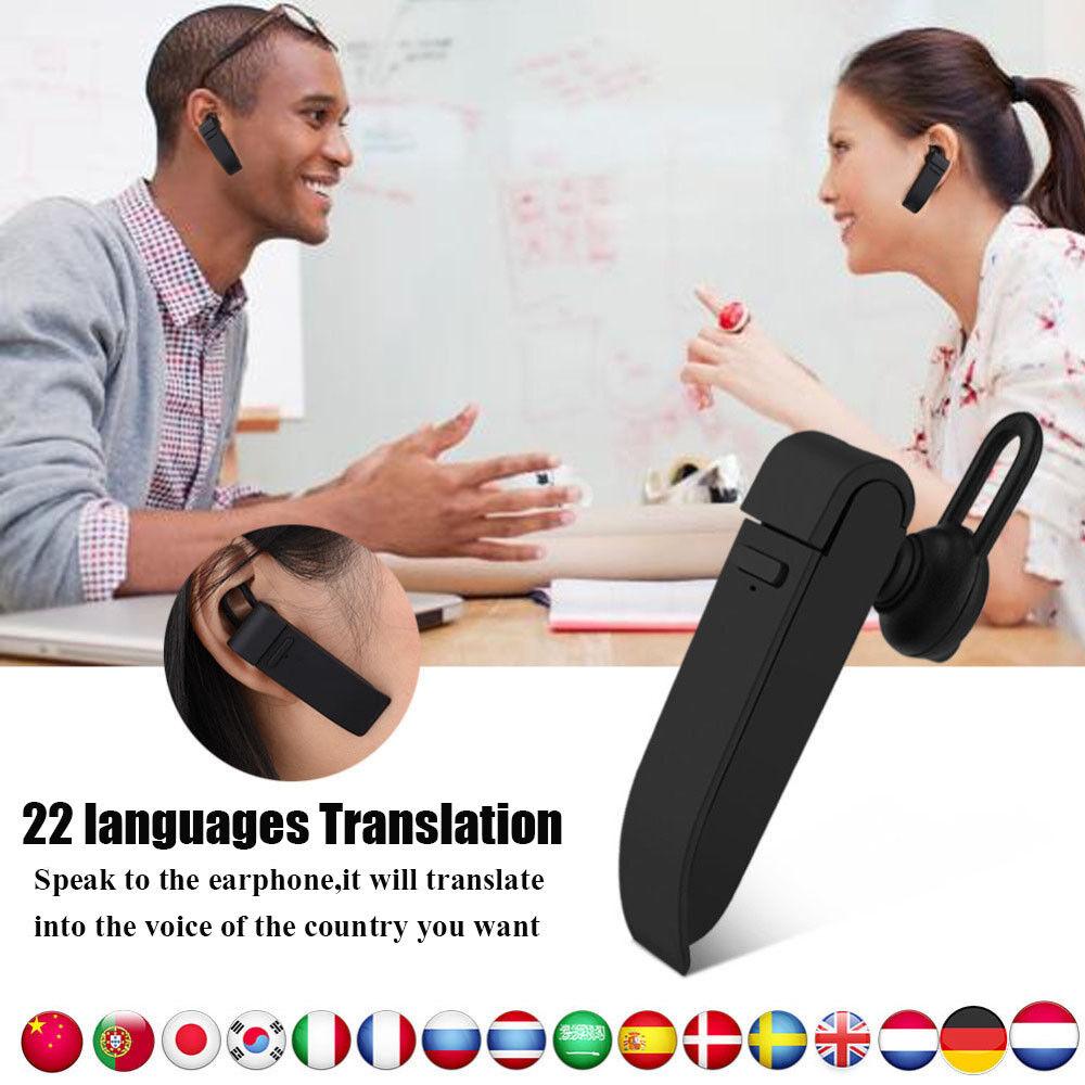Intelligent Multi-Language instant translator voice with Wireless bluetooth