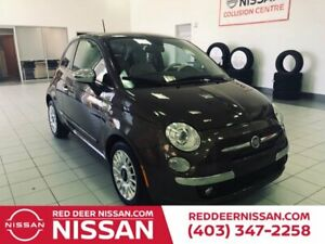 2012 Fiat 500 LOUNGE | HEATED SEATS | CD PLAYER | BLUETOOTH |  AIR CONDITIONING | 2 DOOR |