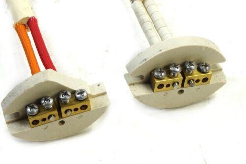3/' High Temperature Thermocouple Sensor Kiln Furnace w// Ceramic Terminal Block
